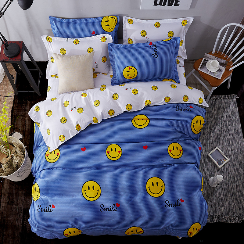 High-quality Christmas Decorations for Home Soft Comfortable Duvet Cover Set twin full queen king size