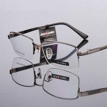 Высокое качество Мужские гибкие очки титановая оправа оптические очки оправа рецепт Изысканная оправа для очков 8295