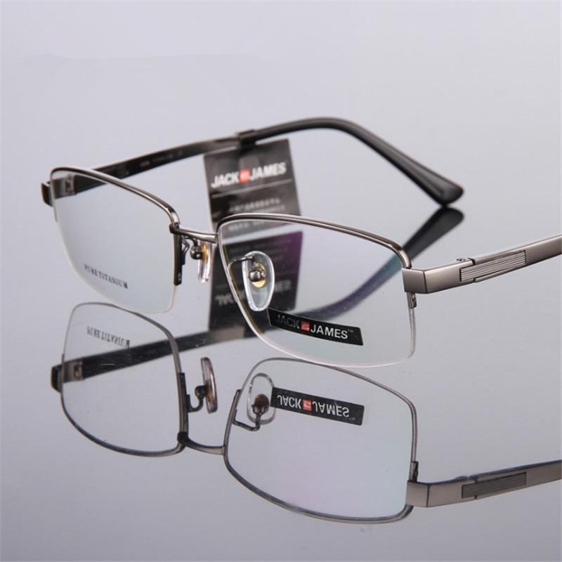 High Quality Men's Flexible Spectacle titanium frame Optical Glasses Frame Prescription Exquisite Eyewear Frames Spectacle 8295