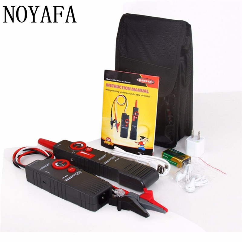 Noaya High & Low Voltage Cable Tester Underground Cable Finder Anti-Interference Wire Tracker RJ45 RJ11 BNC Tester NF-820 bag women 2018 new messenger bags female genuine leather tassel shoulder bag small flap bag vintage fashion rivet mini handbag