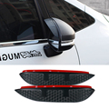 Car Styling Carbon rearview mirror rain eyebrow Rainproof  Flexible Blade Protector Accessory For TOYOTA  CAMRY 2009-2011