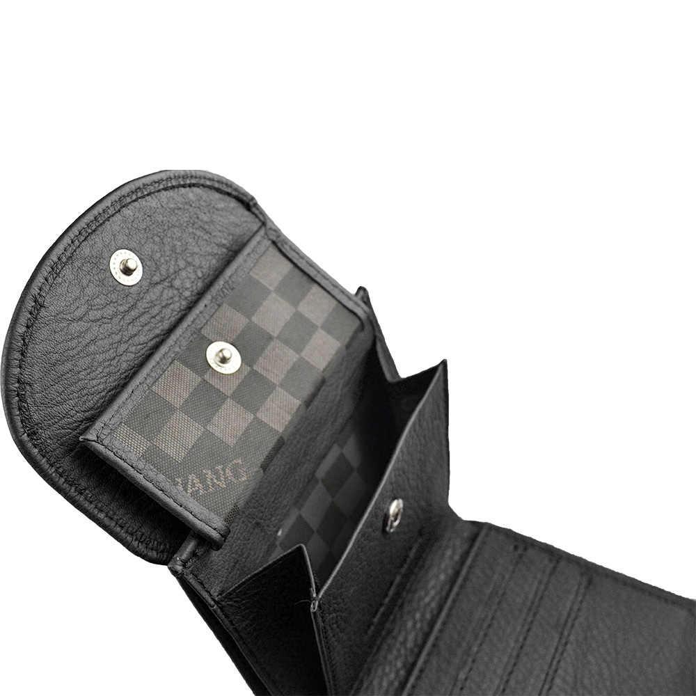 HH 2019 yeni Mini inek hakiki deri erkek cüzdan erkek küçük cüzdan bozuk para çantaları kimlik kartı tutucu tasarımcı ince çanta para çantası