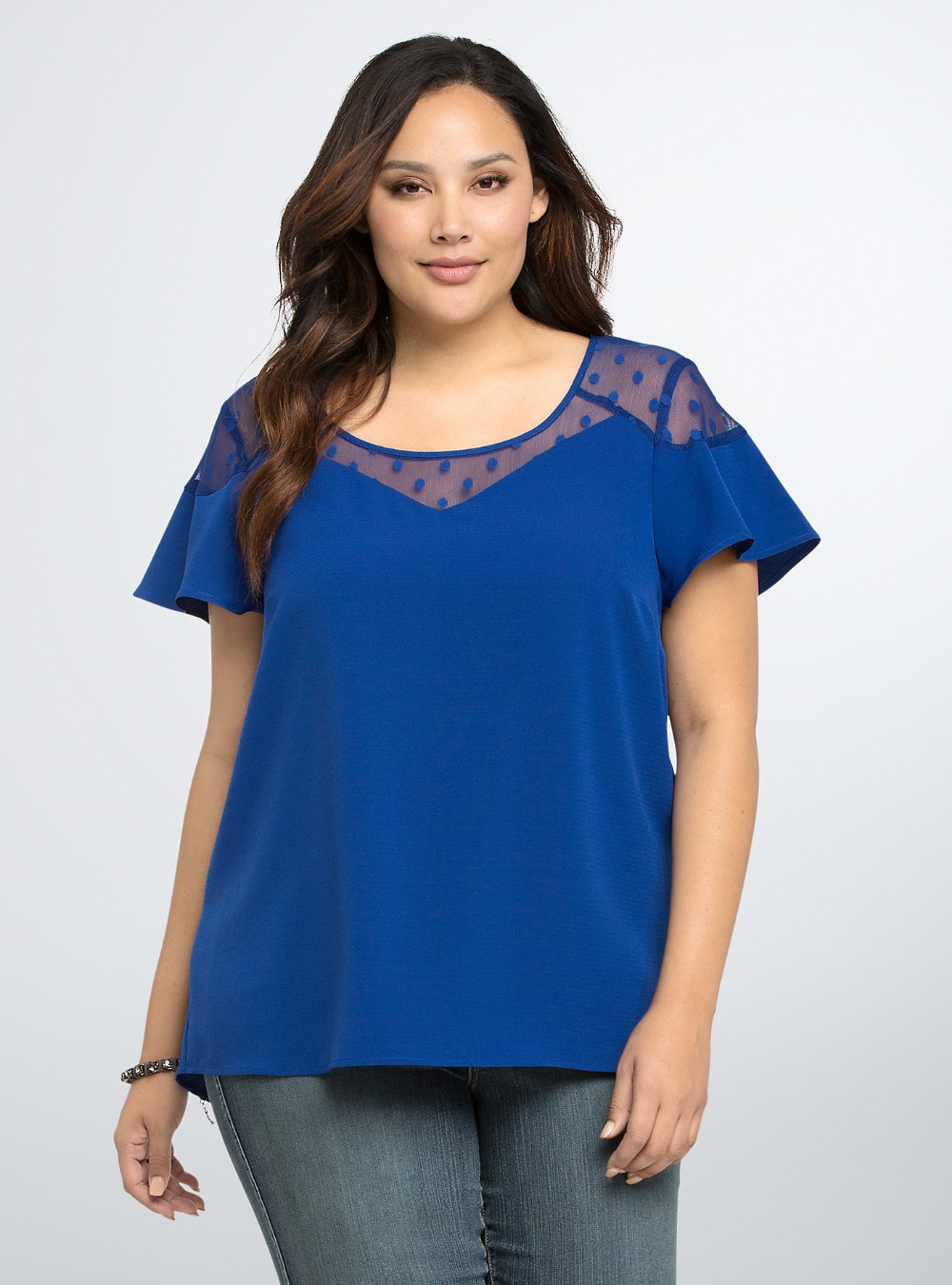 Fantastic Blouses For Women Blue Womenu0026#39;s Polyester Blouse