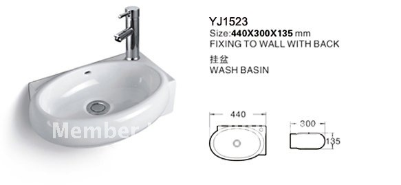 ... 7889 Bathroom Ceramic Mini And Save Spaces Wall Hung Wash Hand Sink  Basin Lavatory Lavabo