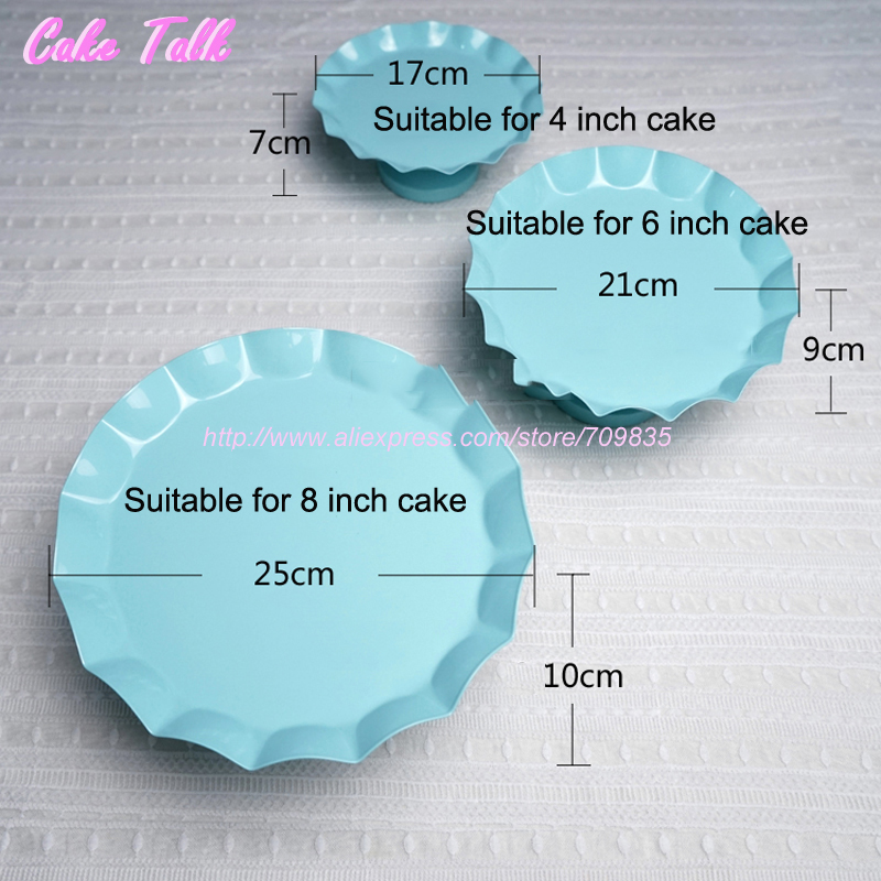 Blue Cake Stand Lollipop Candy Plate  Inch Party Decoration Supplier For Baking Dinnerware Bakeware Tools In Cake Decorating Supplies From Home
