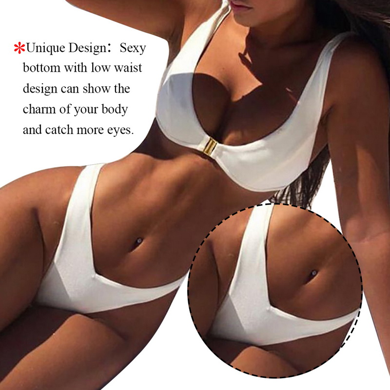 HTB1QhbdXBWD3KVjSZFsq6AqkpXa9 2019 Women Micro Bikini set Push Up Swimwear Solid Beach Bathing Suit Brazilian Thong Swimsuit For Girls Bikini Swim Suit femme