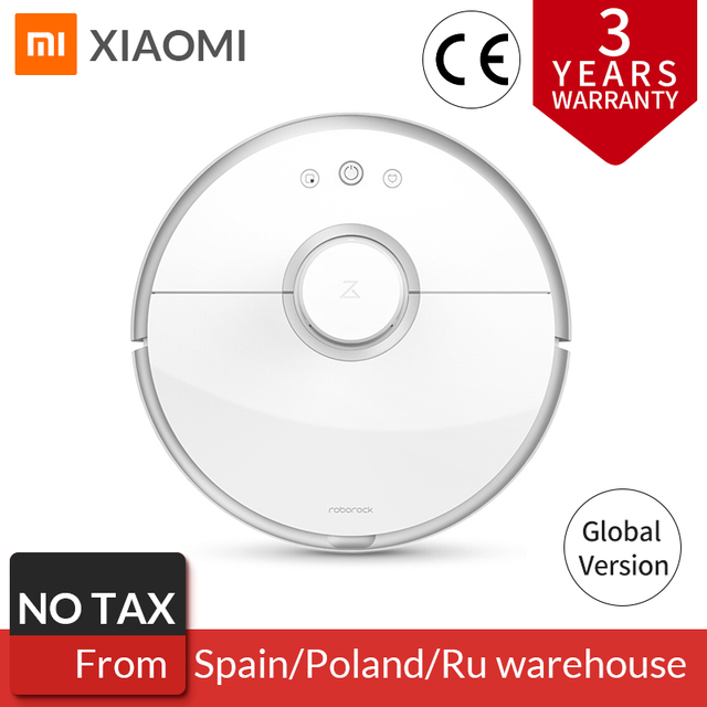 Roborock s50 s55 Xiaomi Vacuum Cleaner 2 Home Mi Robot Smart Cleaning Dust Sweeing Wet Mopping Robotic Automatic Dust Collector