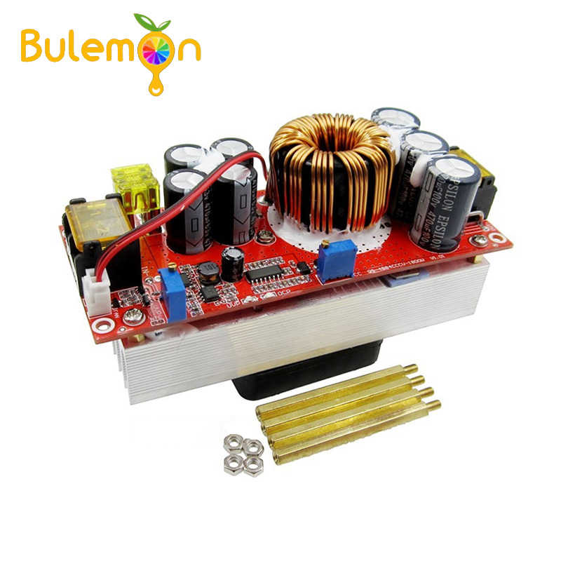 1800W 30A DC-DC Boost Converter 10-60V to 12-90V Step Up Power Supply Module