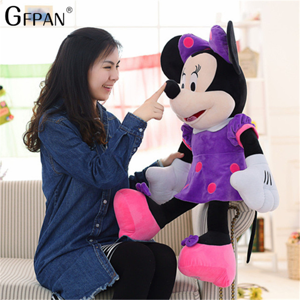 50CM Wholesale High Quality Mickey & Minnie Mouse Plush Toys Stuffed Cute Cartoon Animal Dolls Party Gift For Kids Girl стоимость