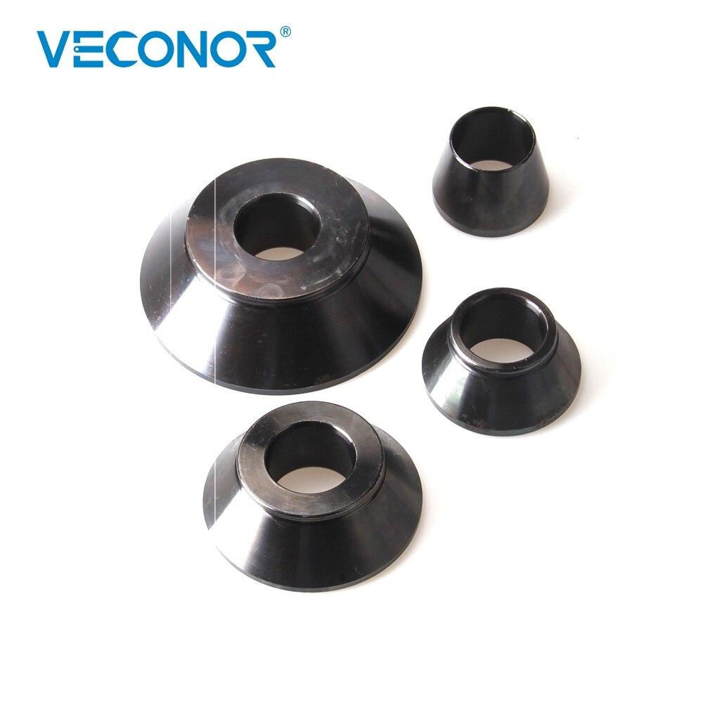Veconor Set Of Cones For Wheel Balancer Adaptor Standard Taper Kit Shaft Size 36 38 40mm