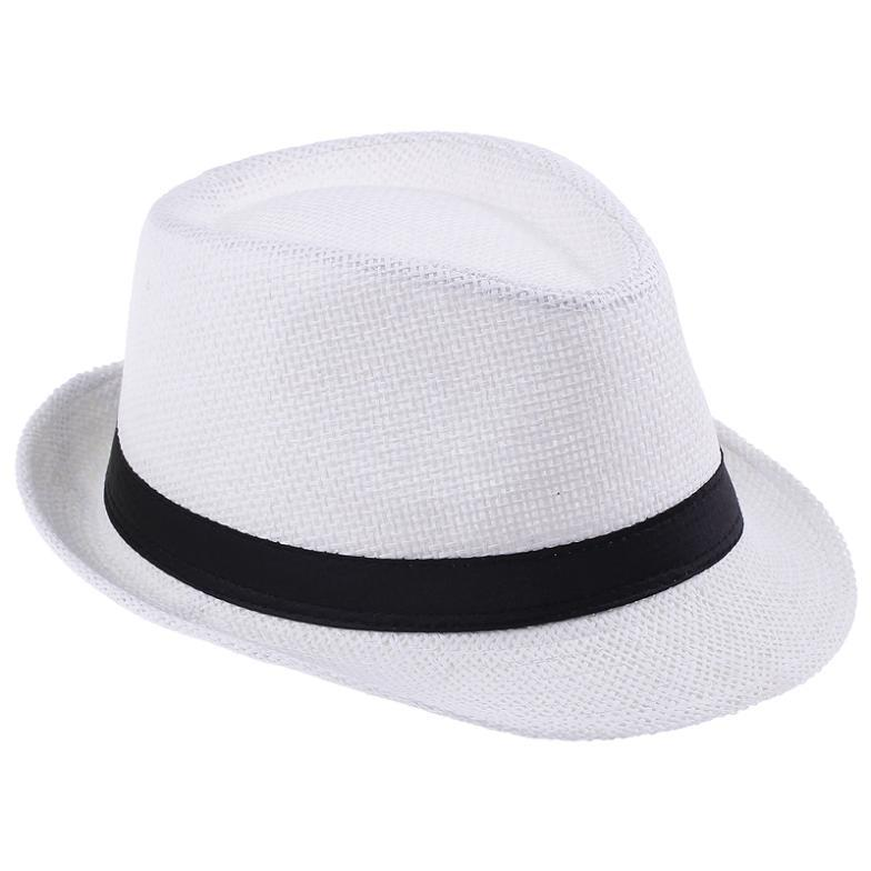 2015 Tea Party Church Hats For Women Men Summer Baby Straw Beach Sun Floppy  Bucket Sombreros Wide Brim Woman Visor Hat-in Holidays Costumes from  Novelty ... 1c6aa7331002