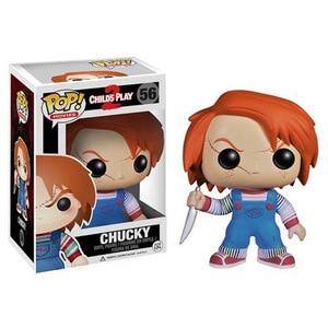 Image 2 - Funko pop Thriller Film del Bambino Play & Chucky Vinyl Action Figure Collection Giocattoli di Modello per I Bambini regalo Di Compleanno