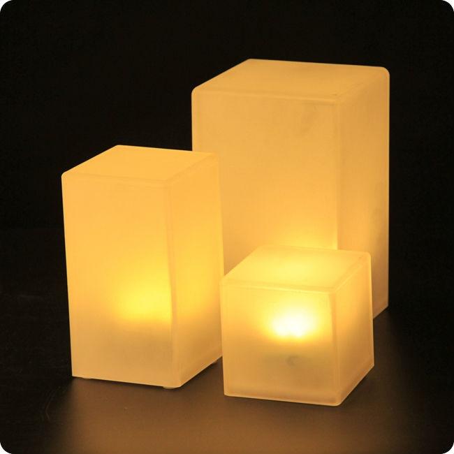 110*170มิลลิเมตรABS LEDตกแต่งCube 7