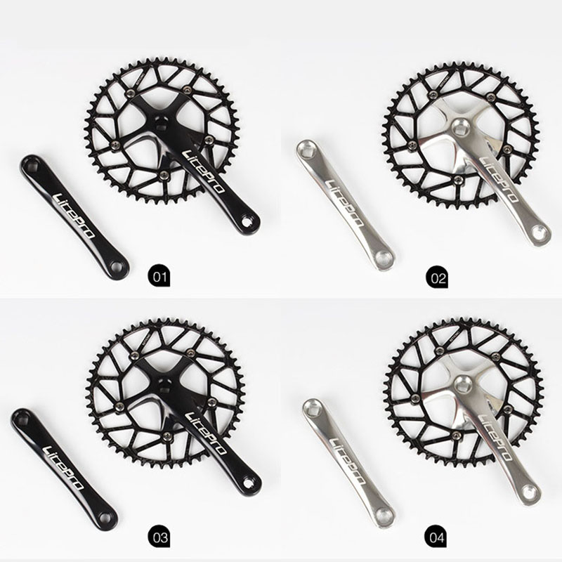 Litepro Super Light 130 BCD 50T 52T 54T 56T 58T Bicycle Chain Wheel Chainring Hollow BMX Folding Bicycle Crankset Bcycle