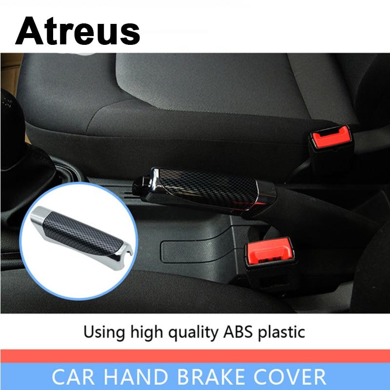 Atreus Car Styling Automobile Handbrake Grips Sticky Covers For Nissan Qashqai Citroen C4 C5 C3 Chevrolet Cruze Aveo Peugeot
