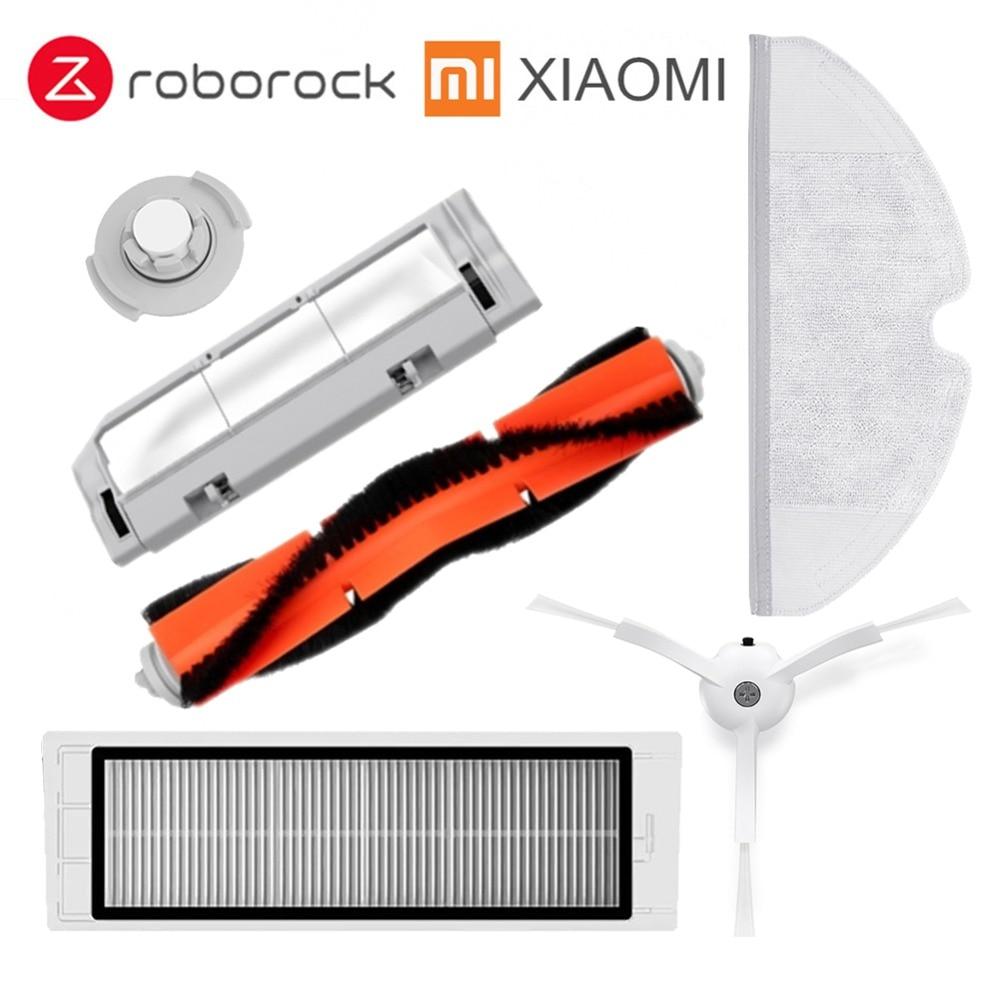 Xiaomi Roborock Robot S50 S51 Cleaner Kit di Ricambio Mop panni Asciutto Bagnato Pulire serbatoio di Acqua filtro Spazzola Laterale Rullo spazzola