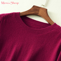 Menca Sheep New Arrival Women S Sweater High Soft Jumpers Ladies 100 Cashmere Oneck Pullovers Female