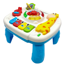 TOT Children 2019 Lighting Music Giraffe Electronic Piano Learning Table Education Interactive GOOD QUALITY Baby Toy Gifts
