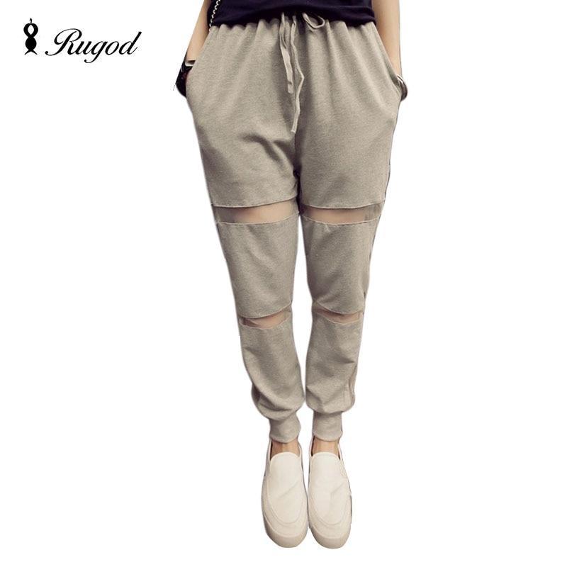 2017 New Summer Autumn Women Casual Harem   Pants   Female High quality Women's Loose Long Trousers Korean Fashion   Capris