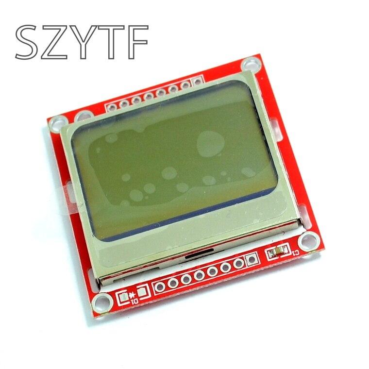 Высокое качество 84x48 84x84 ЖК-модуль красная подсветка адаптер PCB для Nokia 5110