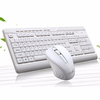 EPULA 2019 Fashion Wireless Mini Mouse Gaming USB Wireless 2.4G Keyboard And Mouse Kit Set For PC Laptop
