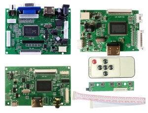 LCD TTL LVDS Controller Board HDMI VGA 2AV 50PIN for 7300101463 1024*600 Driver Board(China)