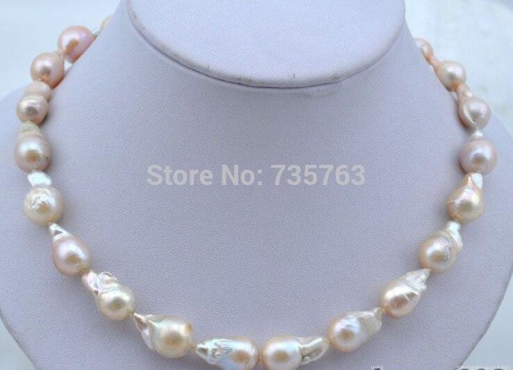 xiuli 0015139 1720mm baroque pink reborn keshi pearl necklacexiuli 0015139 1720mm baroque pink reborn keshi pearl necklace