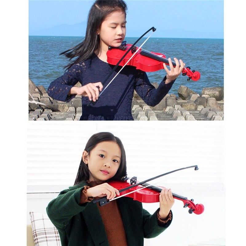 Nouveau Instrument d'éducation de la petite enfance violon réaliste Simulation Instrument de musique enfants jouets éducatifs