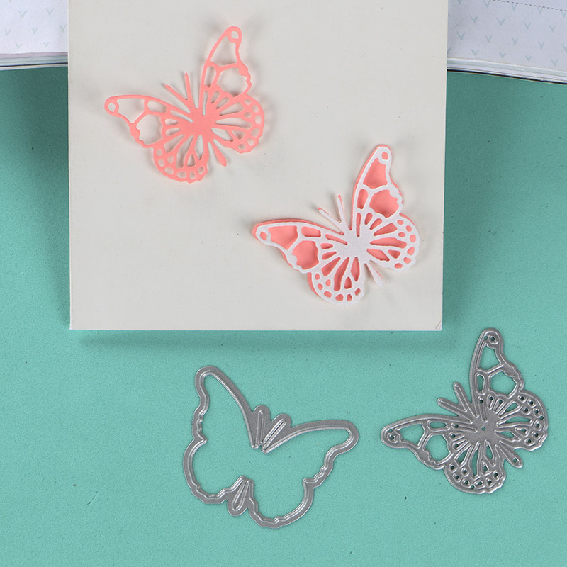 DUOFEN METAL CUTTING DIES Butterfly Set For DIY Papercraft Projects Scrapbook Paper Album