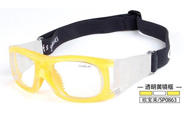 Открытый Профессиональный Баскетбол очки Футбол Спортивные очки очки рамка матч оптических линз близорукость близорукие SP0863