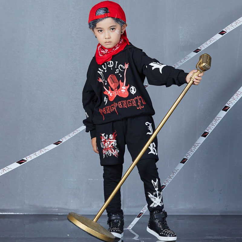 Autumn Spring Kids Street Dance Clothes Sets Fashion Hip Hop Clothing 2019 Brand High Quality Sport Suit for Teenage Boys Girl-in Clothing Sets from Mother & Kids on AliExpress - 11.11_Double 11_Singles' Day 1