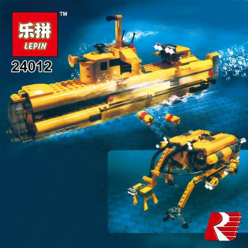 2017 Lepin 24012 New Creative The Underwater Explora Ship Educational Building Blocks Bricks Funny Toys Model Compatible  4888 lepin 22001 pirate ship imperial warships model building block briks toys gift 1717pcs compatible legoed 10210