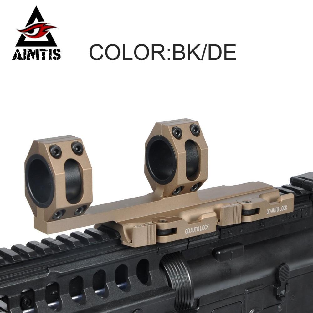 AIMTIS AR15 M4 M16 AK47 Rapide Portée de Sortie Montage Optique QD Fusil Portée Anneaux 1