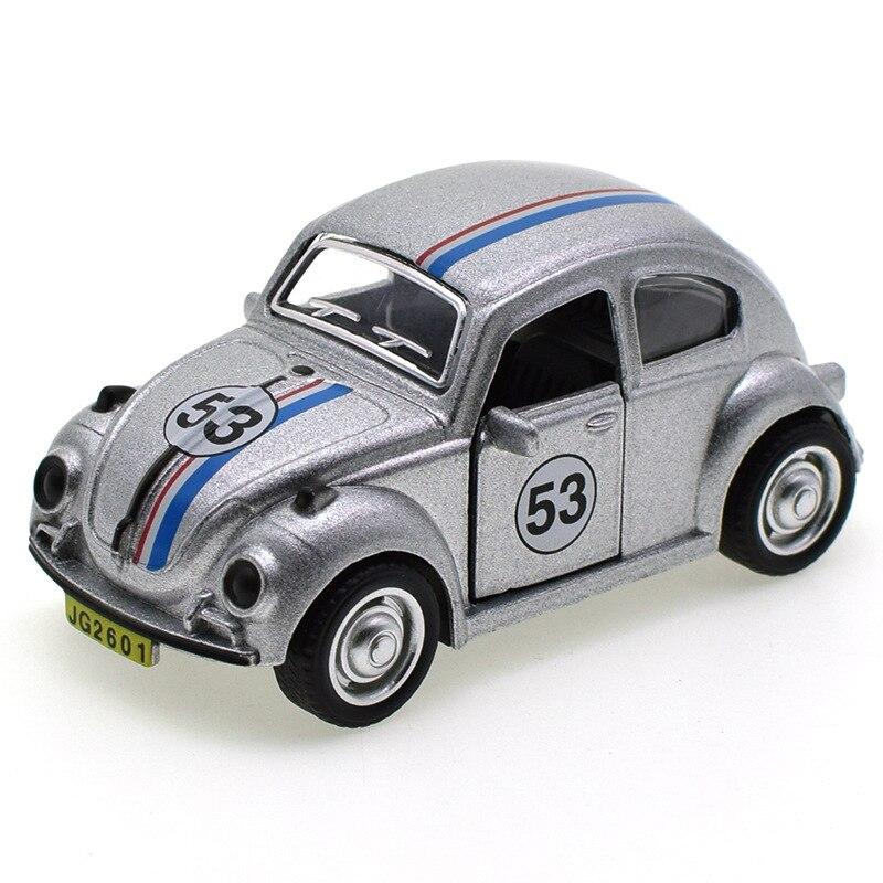 Herbie Volkswagen Beetle 53 Model Toy Car 8