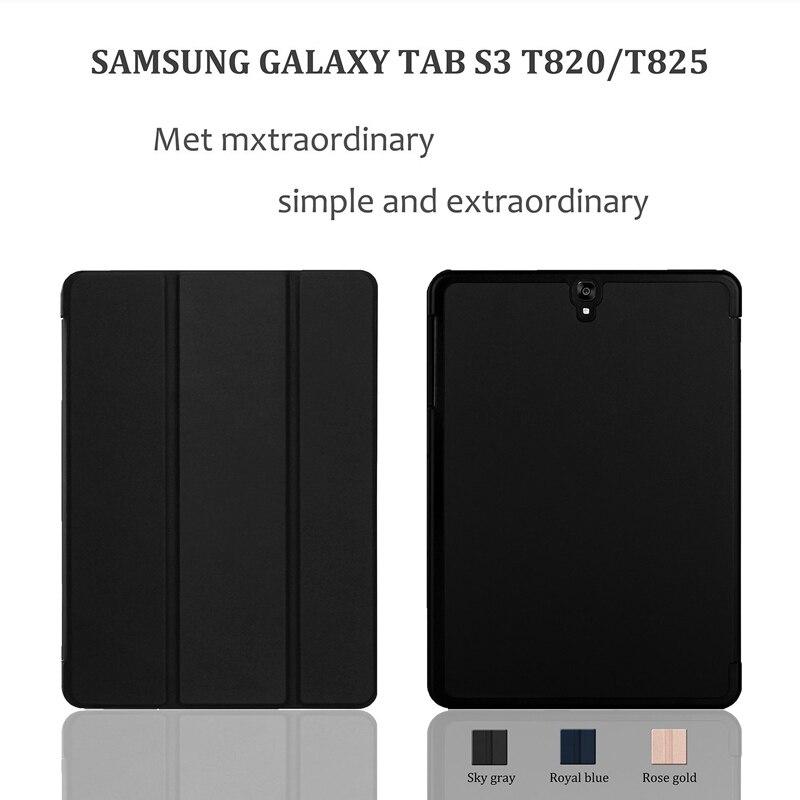 CucKooDo for Samsung Tab S3 9.7, Ultra Kerge Slim Nutikas Kaanekott - Tahvelarvutite tarvikud - Foto 5