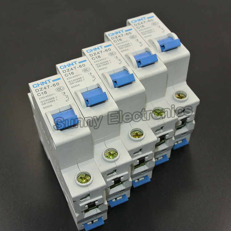 ⊰CHINT DZ47-60 C32 1P 32A Household miniature Circuit Breaker with ...