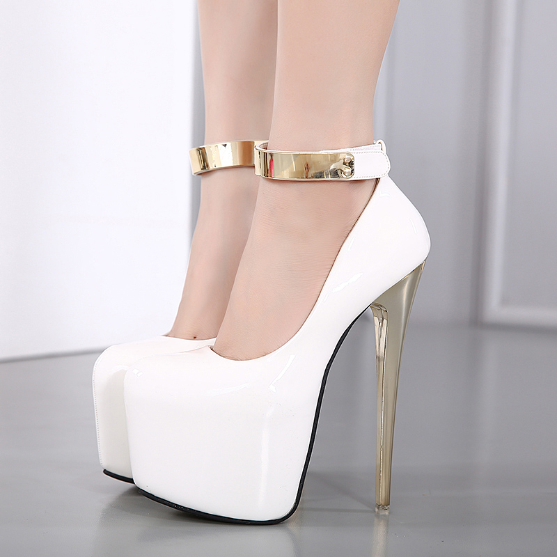 Womens Stiletto White Promotion-Shop for Promotional Womens