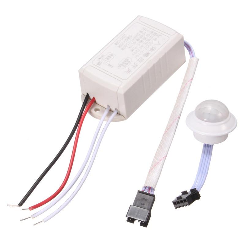 New IR Infrared Module Body Sensor Switch Intelligent Light Lamps Human Motion Movement Sensing Switch vibration switch sensor module w dupont cable for intelligent car blue