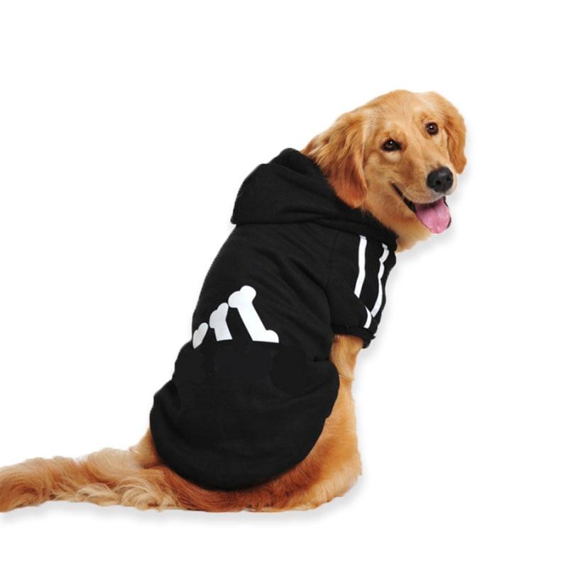 Plus Size Large Dog Clothes Spring Warm Soft Dog Coat Jacket Big Dog Clothing Sports Hoodie for Golden Retriever 2XL-7XL55