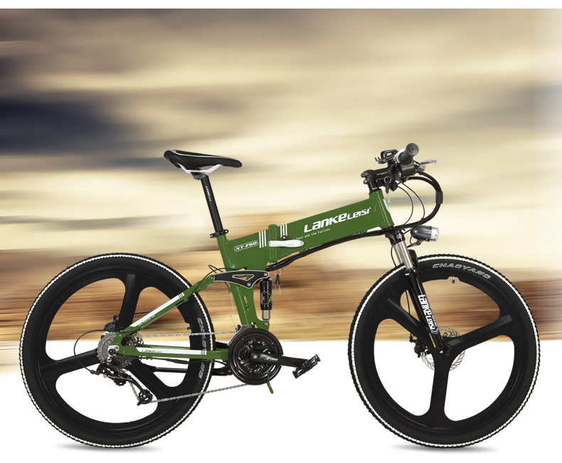"HTB1Qhh.hywIL1JjSZFsq6AXFFXax - XT750D 27 Velocity 500W Tremendous Energy Excessive High quality 26"" Foldable Electrical Bicycle, 36V/48V Hidden Lithium Battery Mountain Bike MTB"