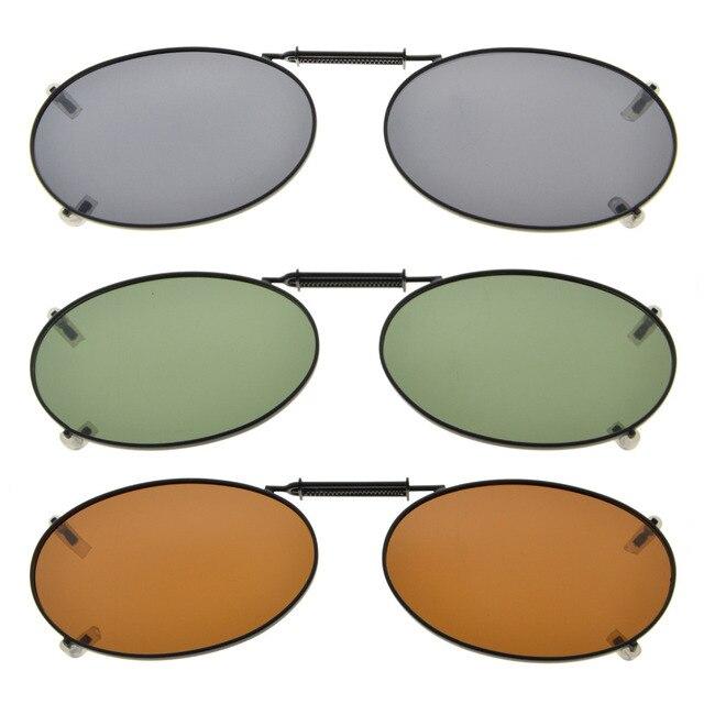 c8acca96b3e C76 Eyekepper Grey Brown G15 Lens 3-pack Clip-on Polarized Sunglasses  51x33MM