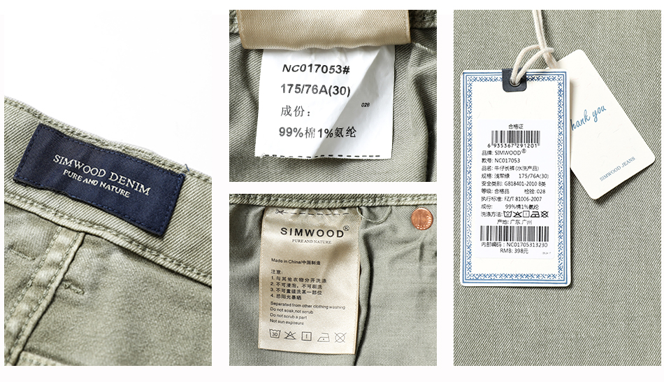 HTB1Qhh2cLjM8KJjSZFyq6xdzVXaQ - SIMWOOD Fashion Paint Splat 2019 Vintage Men Jeans Casual Hole Zipper Denim Pants Man Trousers Plus Size Free Shipping NC017053