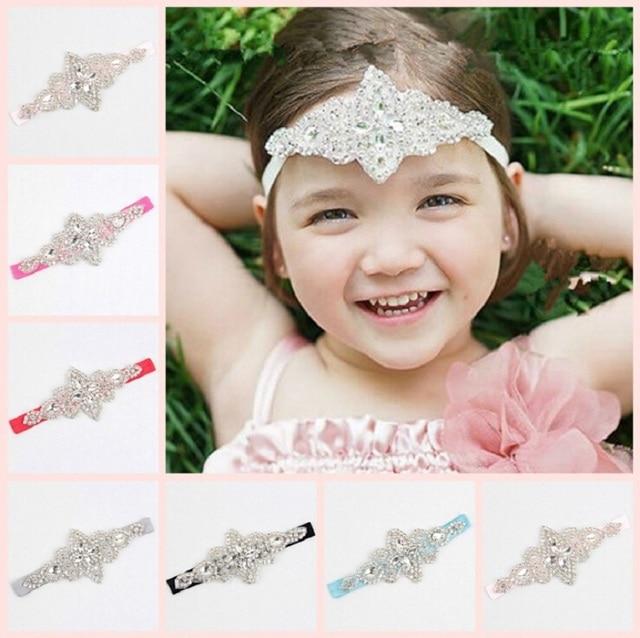 Aliexpress.com : Buy New Little Girls crystal headband Kids diamante hair accessories Wedding