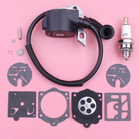 Ignition Coil For Stihl 015 015AV 015L Spark Plug Carburetor Repair Kit Chain Saw Chainsaw Spare Replacement Part