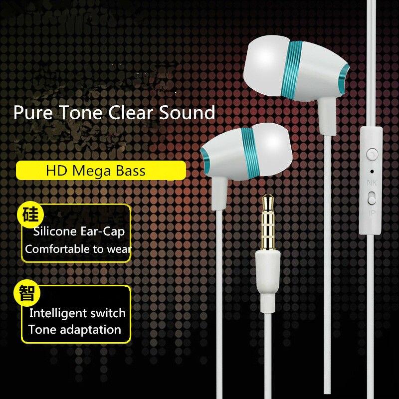 Высокое Качество HD Наушники Гарнитуры Earbud Для alcatel pop 2 (4.5) Dual SIM MobliePhone Динамик Микрофон Бесплатная Доставка
