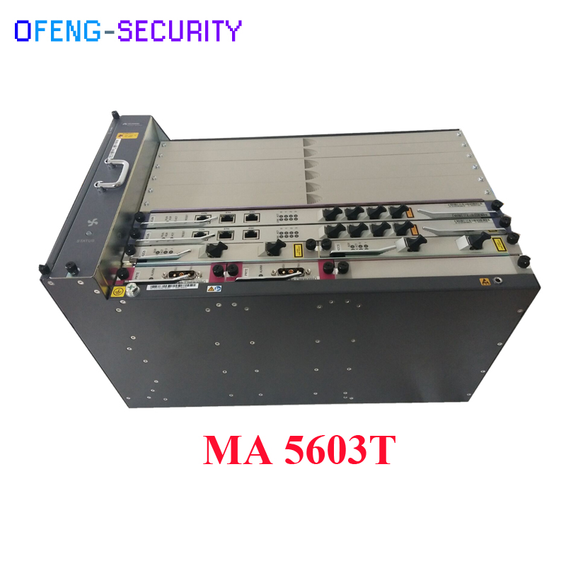 Hua Wei Ma5603t Gpon Epon OLT With 2 SCUN+2X2CS+2 PRTE  For 10g Epon Olt
