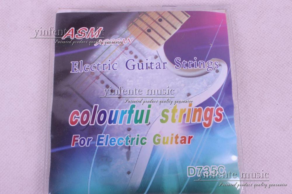 4 set  classic colourfui guitar strings for electricguitar  ASM Aegean D-735C savarez 510 cantiga series alliance cantiga normal high tension classical guitar strings full set 510arj