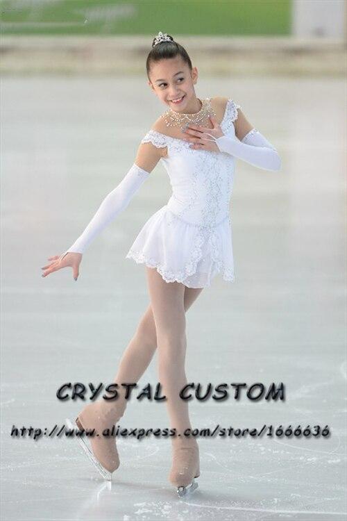 Custom Girls Figure Skating Dresses Graceful New Brand Ice Figure Skating Dresses For Competition Kids DR3751