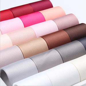 "Grosgrain Ribbon 100% Polyester 6 9 16 25 38 50 MM 1/4"" 3/8"" 5/8"" 1"" 2"" Inch(China)"