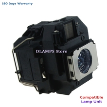 Replacement bulb With Housing ELP58 V13H010L58 fit For EPSON EB-S10 / EB-S9 / EB-S92 / EB-W10 / EB-W9 / EB-X10 / EB-X9 EB-X92